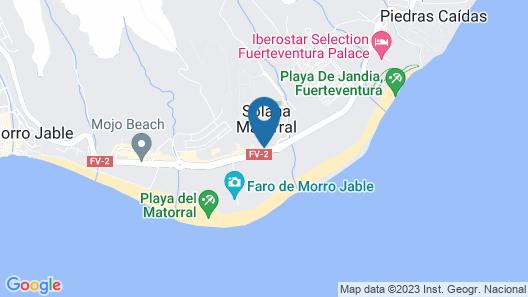 Hotel Dunas Paradise Map
