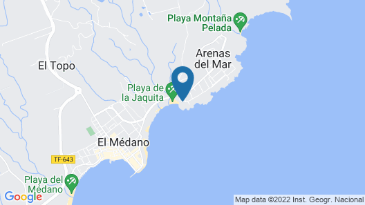 Kn Hotel Arenas del Mar - Adults Only Map