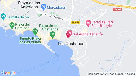 Sol Arona Tenerife Map