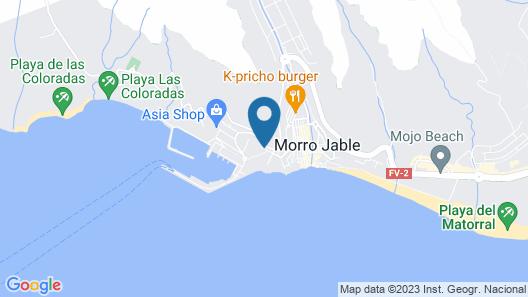 Fuerte Holiday Marina Lux Map