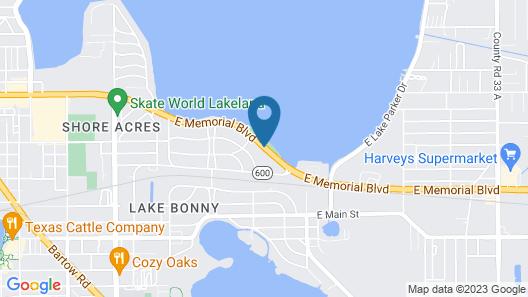 Westmont Inn - Lakeland Map