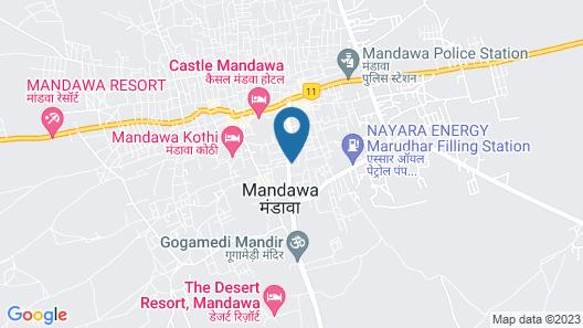 Hotel Mandawa Palace Map