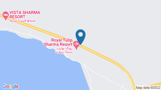 Golden Tulip Sharma Resort Map