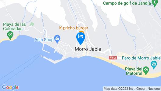 Casa Alberto Map