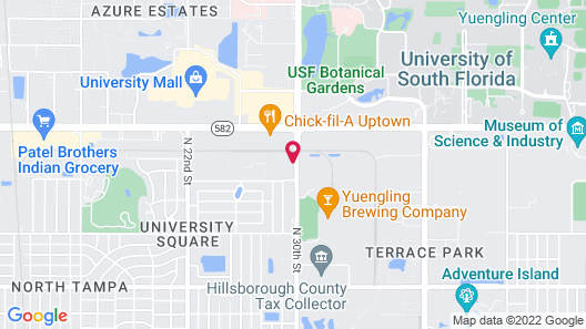 Red Roof Inn PLUS+ & Suites Tampa Map