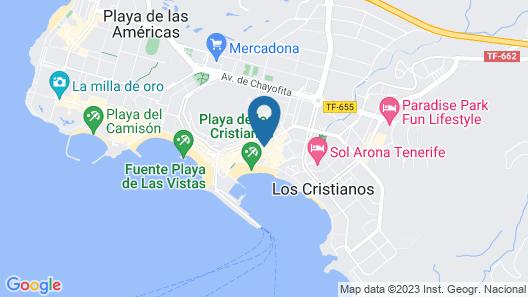 LABRANDA Hotel Reverón Plaza Map