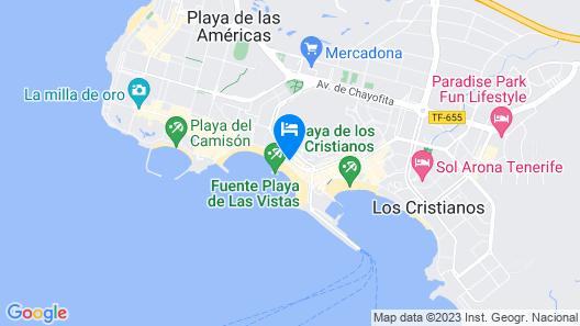 Veramar Vista Piscina Map
