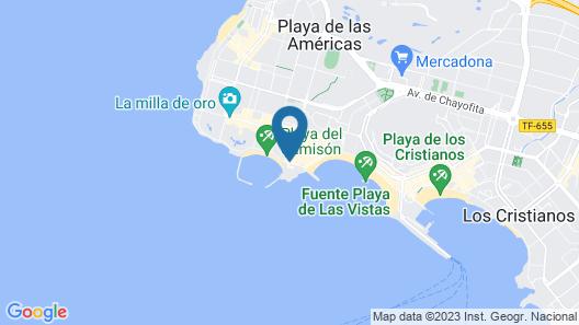 Sir Anthony Hotel Map