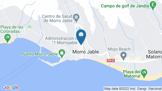 Fuerte Holiday Morro Jable Beach Apartment Map
