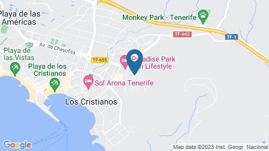 Club Tenerife Map