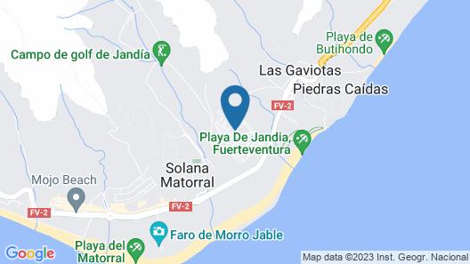 Occidental Jandía Playa Map