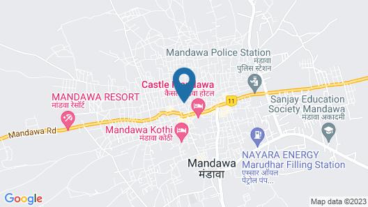 The Messenger Mandawa Map