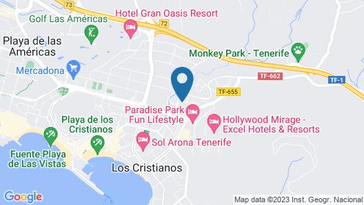 Ona los Claveles Map