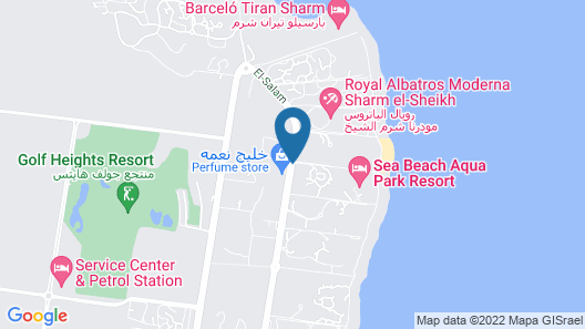 Sea Beach Aqua Park Resort Managed By Blue Resorts Map