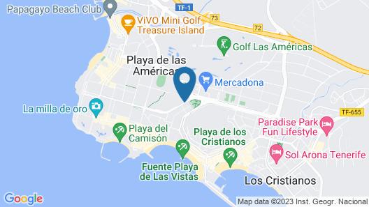 Marola Portosin Apartments Map