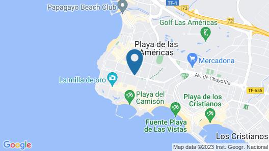 Spring Hotel Vulcano Map