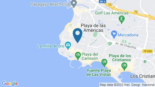 Hotel Best Tenerife Map