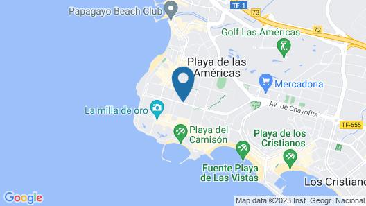 Spring Hotel Bitácora Map