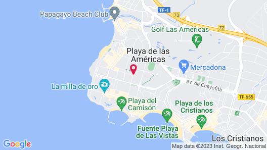 Coral Suites & Spa Map