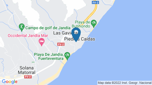 Aldiana Club Fuerteventura - All Inclusive Map