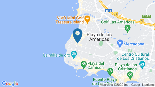Park Club Europe - All Inclusive Map