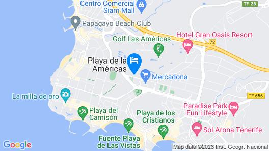Marylanza Suites & Spa Map
