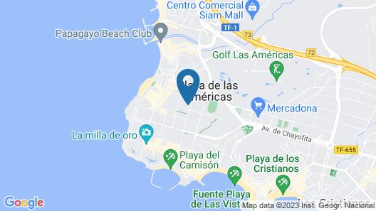 Tigotan Lovers & Friends Playa de las Américas - Adults Only Map