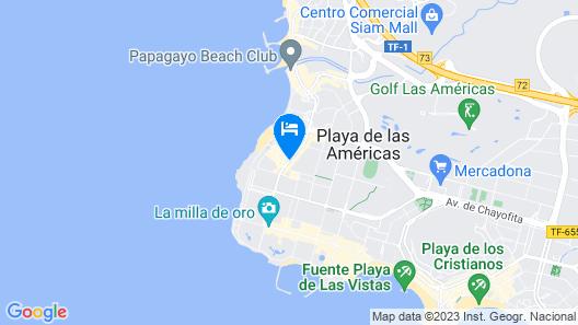 HD Parque Cristobal Tenerife Map