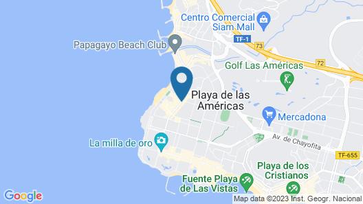 H10 Las Palmeras Map