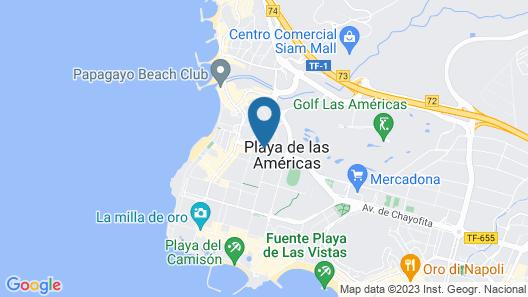 ALEGRIA Barranco Map