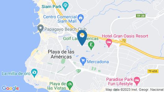 Gara Suites Golf & SPA Map
