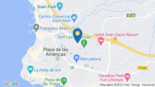 Green Garden Resort & Suites Map