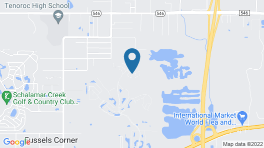 Sunny Auburndale Escape w/ Community Hot Tub, Pool Map
