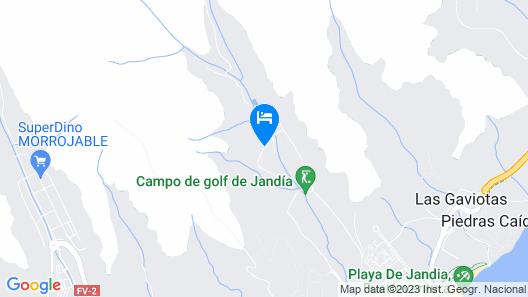 JANDIA GOLF RESORT Map