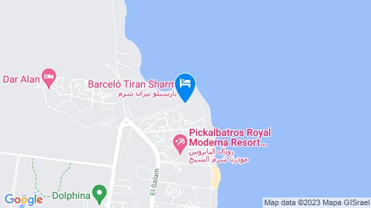 Barceló Tiran Sharm Map