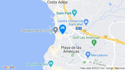 Hotel Gala Tenerife Map