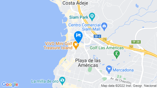 Vanilla Garden Boutique Hotel- Adults Only Map