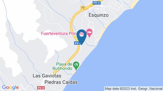 TUI Magic Life Fuerteventura - All Inclusive Map
