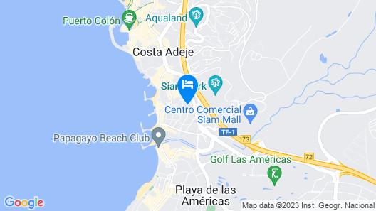 PLAYA DE LAS AMÉRICAS SEA VIEWS Map