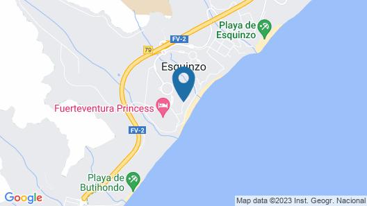 Club Jandía Princess - All Inclusive Map