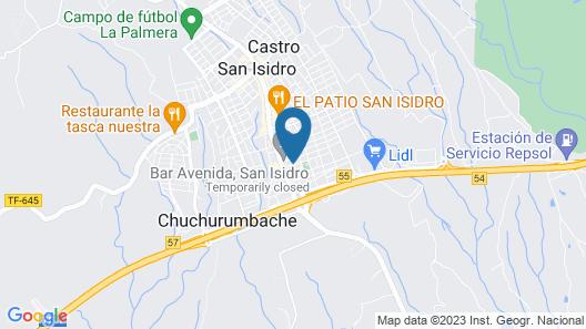 Hotel Aeropuerto Sur Map