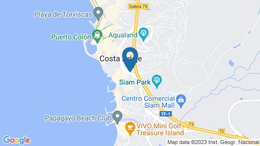 Garajonay I Map