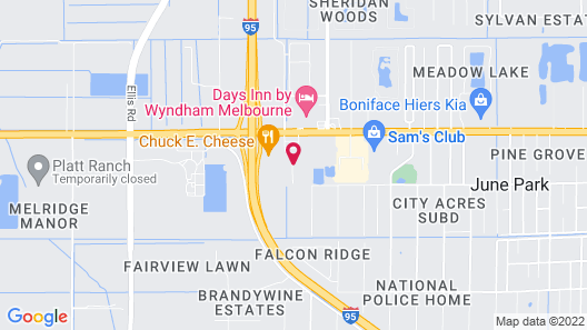 Extended Stay America Premier Suites Melbourne I95 Map