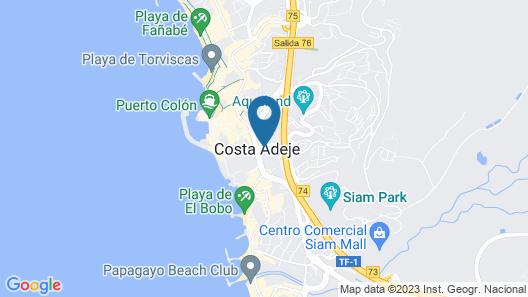 Iberostar Las Dalias - All Inclusive Map