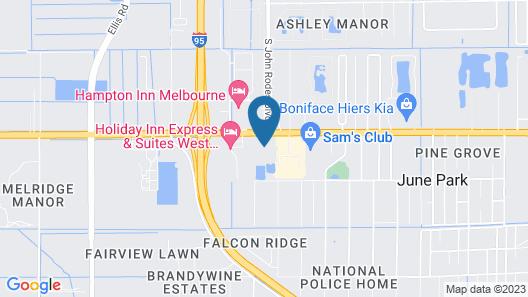 Melbourne All Suites Map