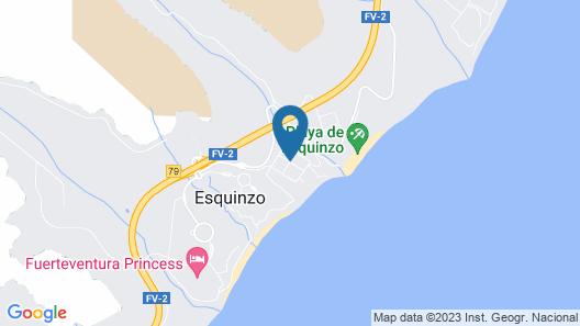 Aparthotel Esquinzo Y Monte Del Mar Map