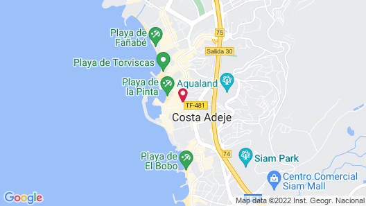Flamingo Suites Boutique Hotel Map