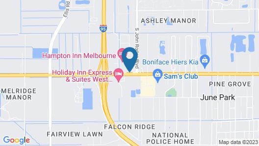 Days Inn by Wyndham Melbourne Map