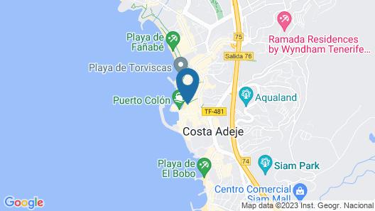 HOVIMA Santa María Map