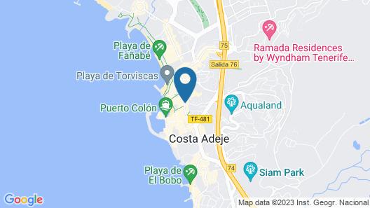 HOVIMA La Pinta Beachfront Family Hotel Map